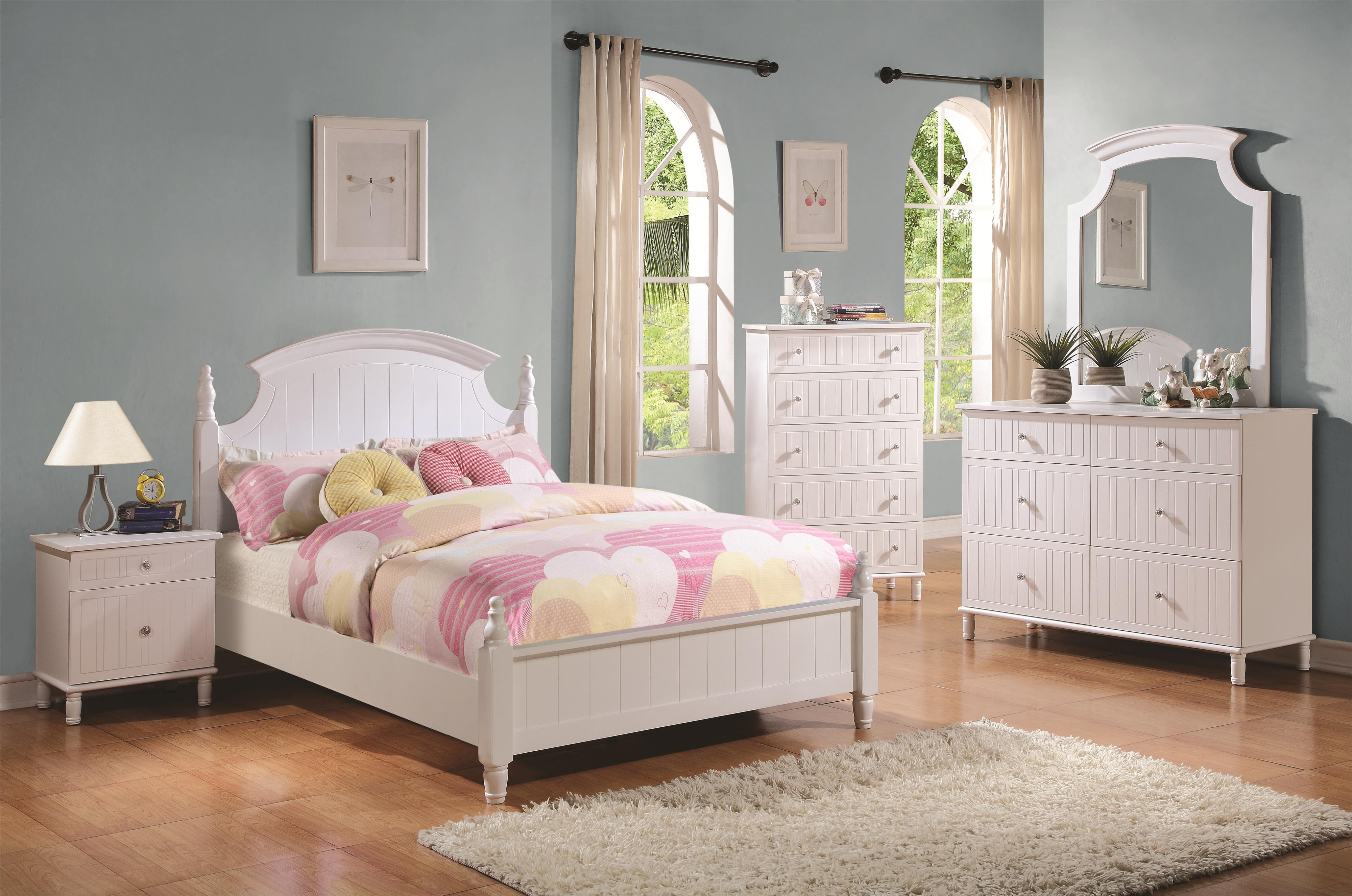 Coaster Bethany Full Bedroom Group - Item Number: 40068 F Bedroom Group 1