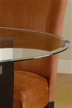 Sophisticated Beveled Glass Table Top