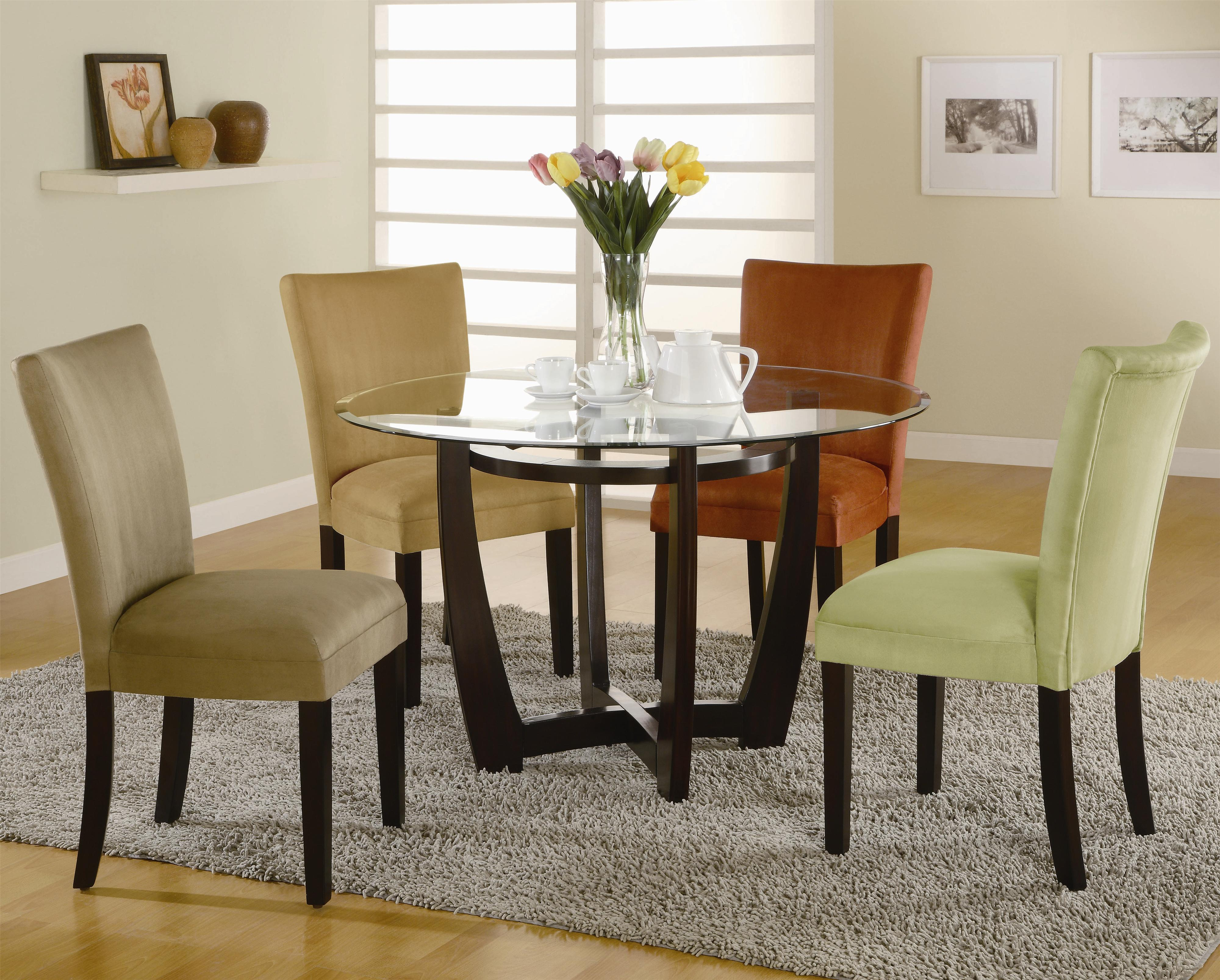 5 Piece Dining Sets coaster bloomfield 5 piece dining set - value city furniture