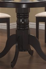 Graceful Curves of Single Pedestal Table