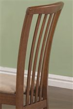 Long Elegant Slats of Side Chair