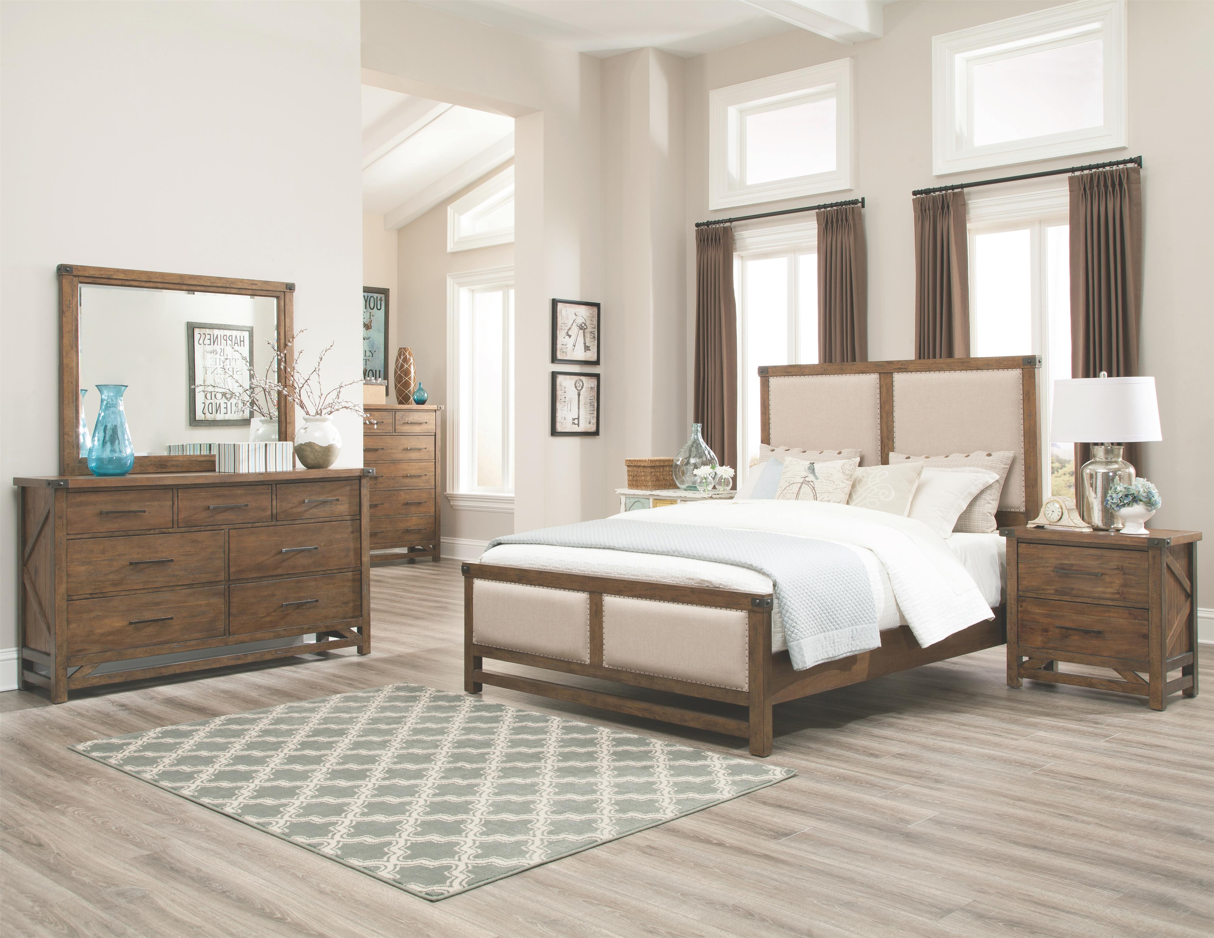 Coaster Bridgeport King Bedroom Group - Item Number: K 20417 Bedroom Group 1