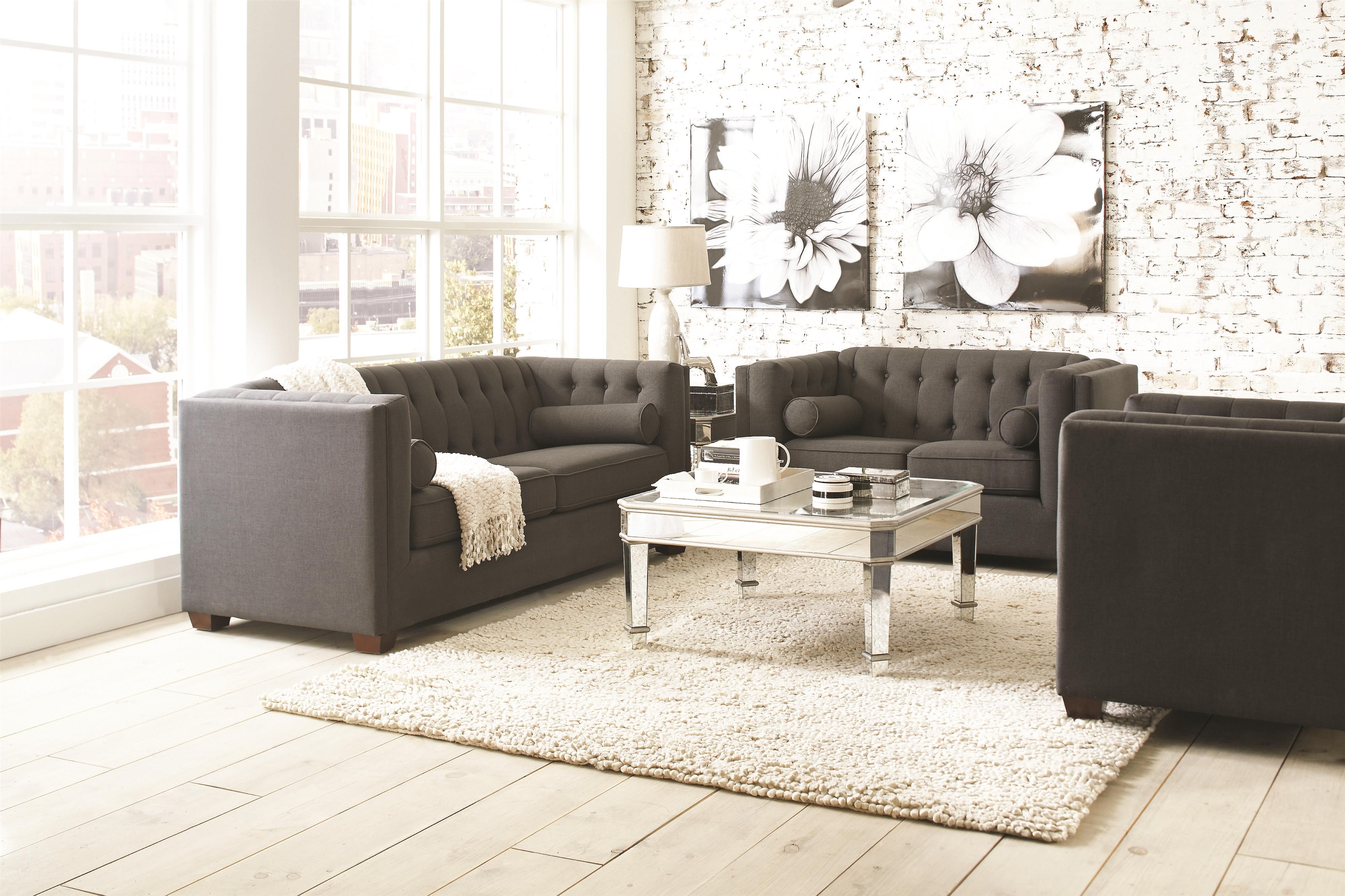 Coaster Cairns 504901 Sofa | Northeast Factory Direct | Sofas Cleveland,  Eastlake, Westlake, Mentor, Medina, Ohio