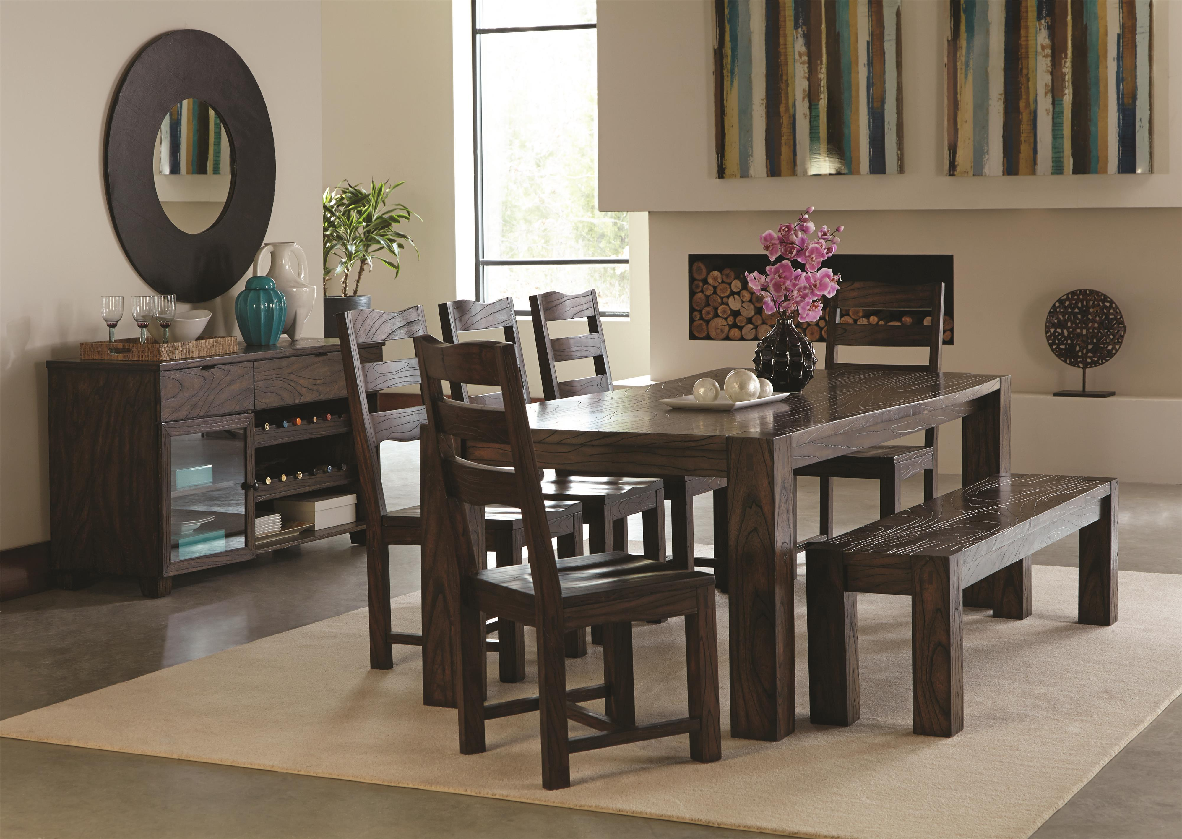 Coaster Calabasas Casual Dining Room Group - Item Number: 12115 Dining Room Group 1