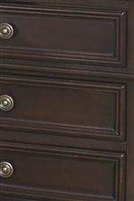 Frame Molding Accentuates Drawer Fronts