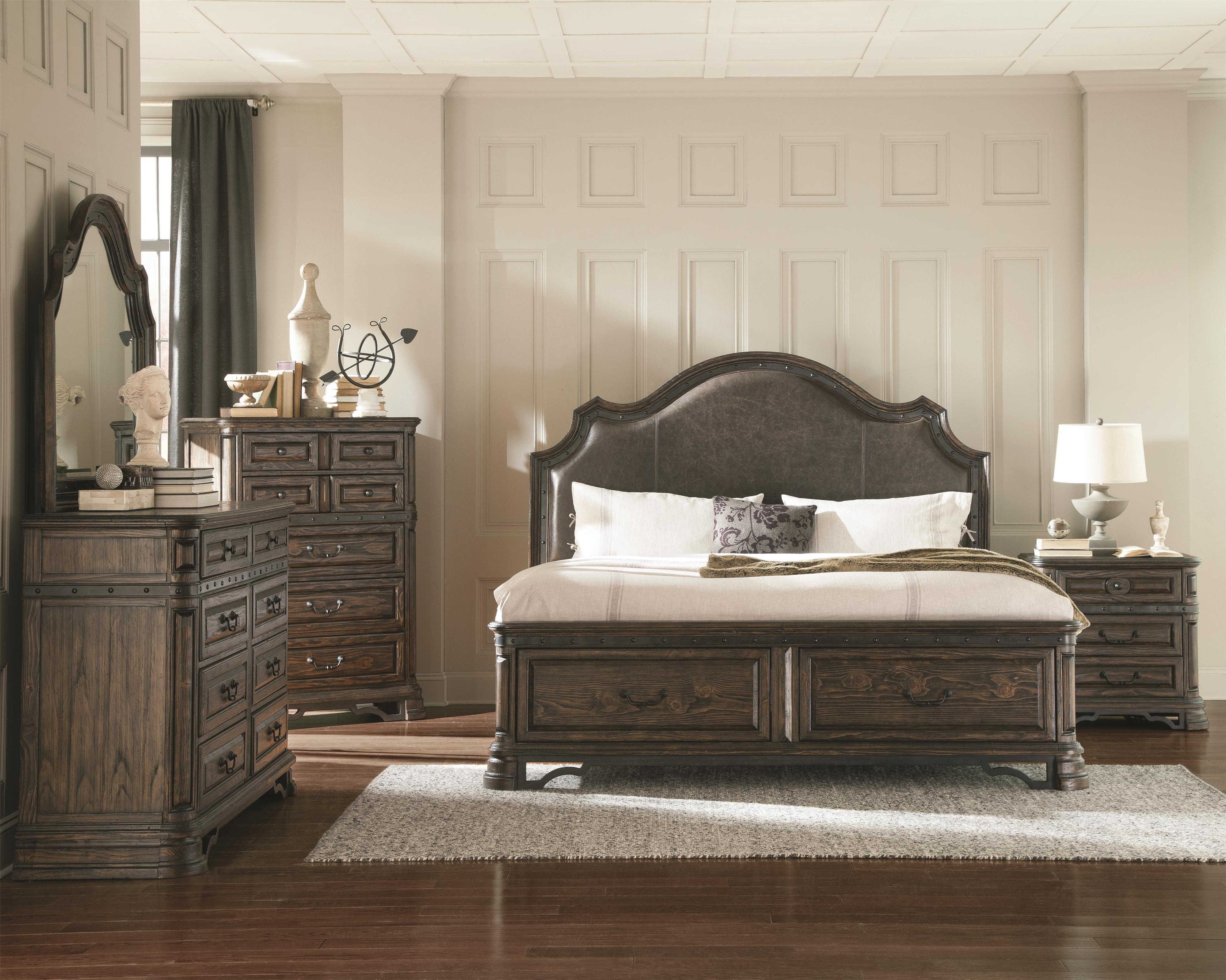 Coaster Carlsbad King Bedroom Group - Item Number: 204 K Bedroom Group 1