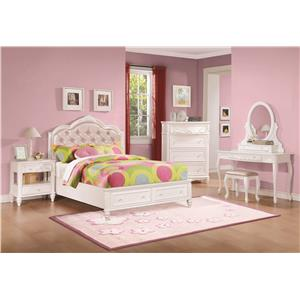 Coaster Caroline Full Storage Bedroom Group