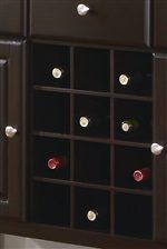 Wine Bottle Server Storage