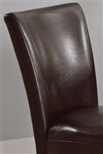 Plush Rounded Chair Backs