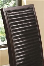 Channel Quilted Upholstered Seat Backs