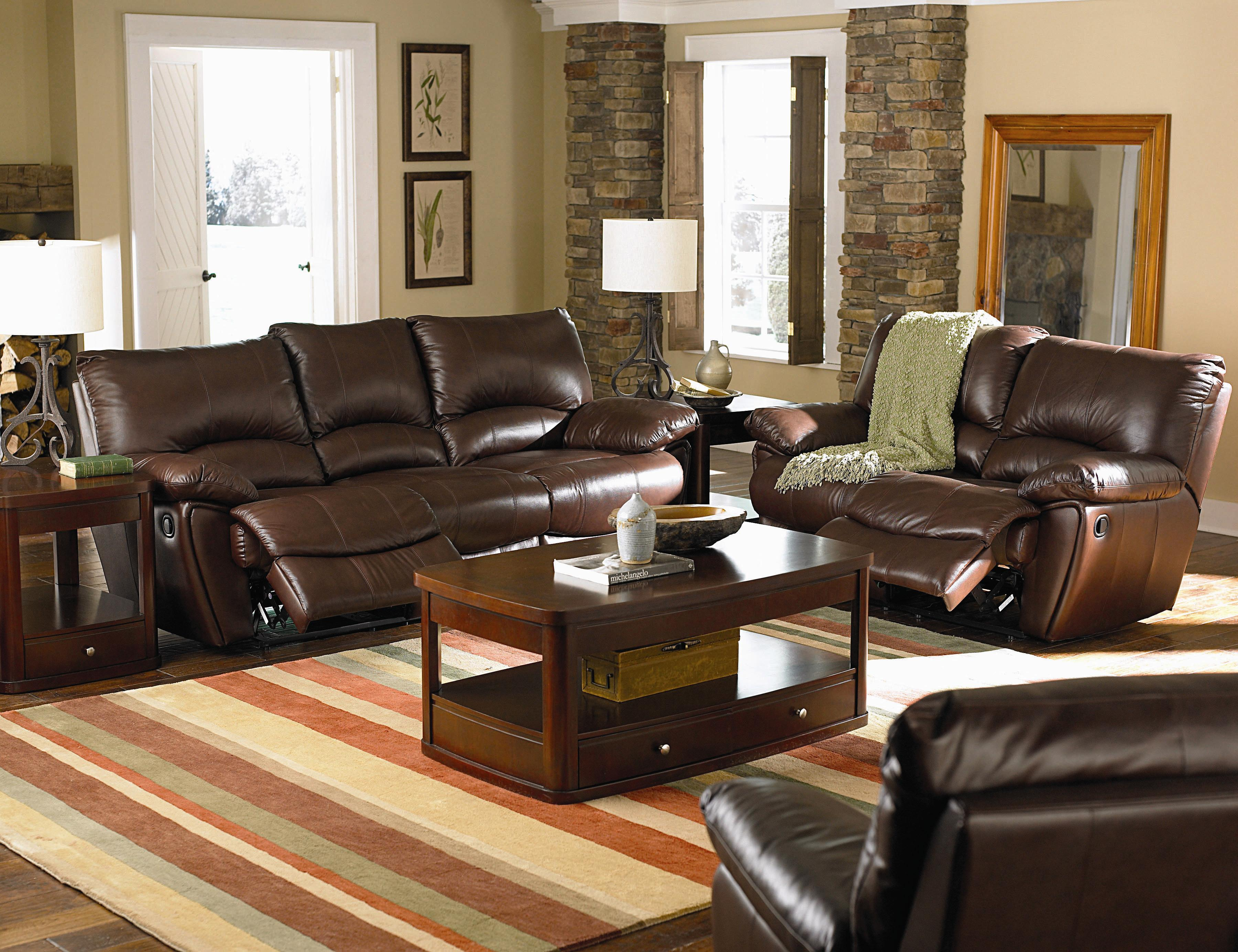 Coaster Clifford Reclining Living Room Group - Item Number: 600280 Living Room Group 1