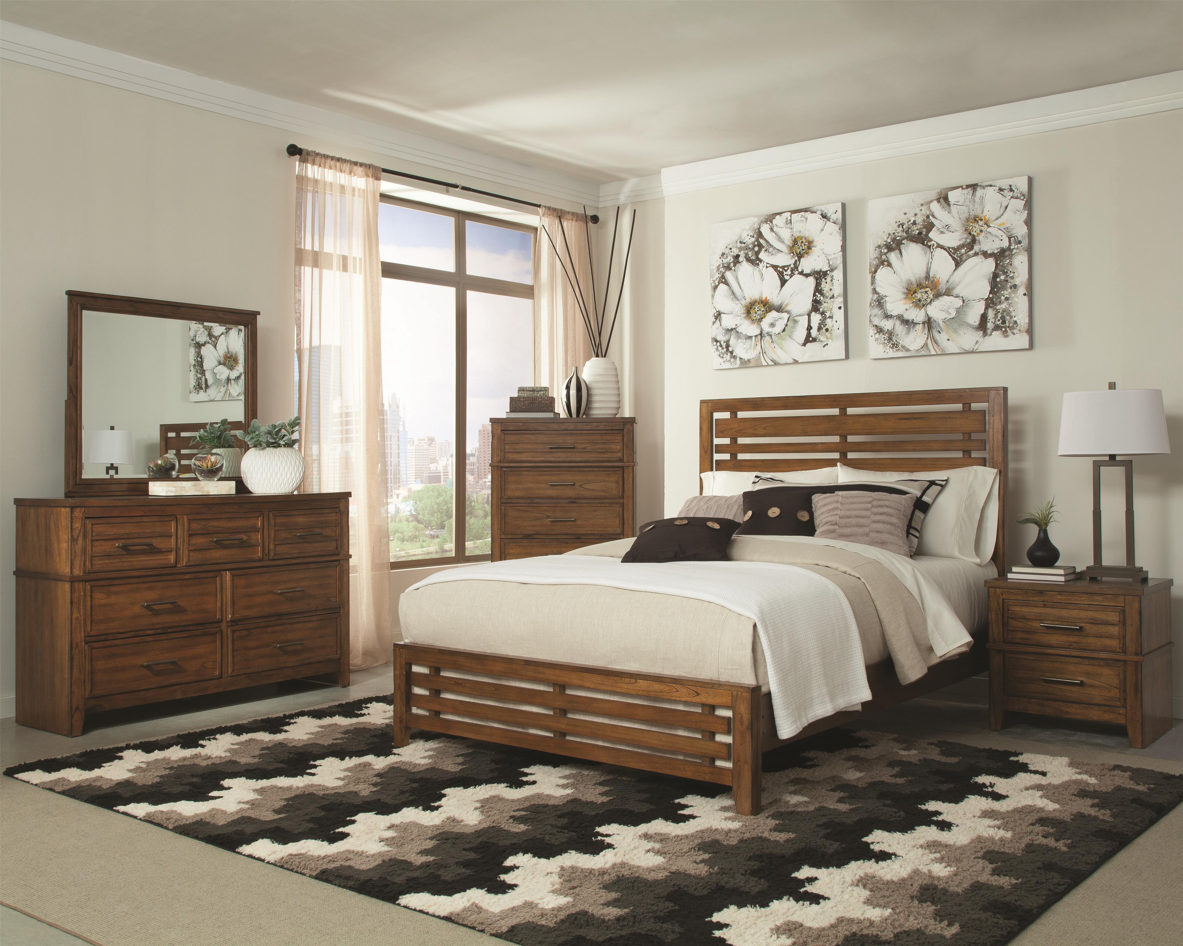Coaster Cupertino Queen Bedroom Group - Item Number: 2040 Q Bedroom Group