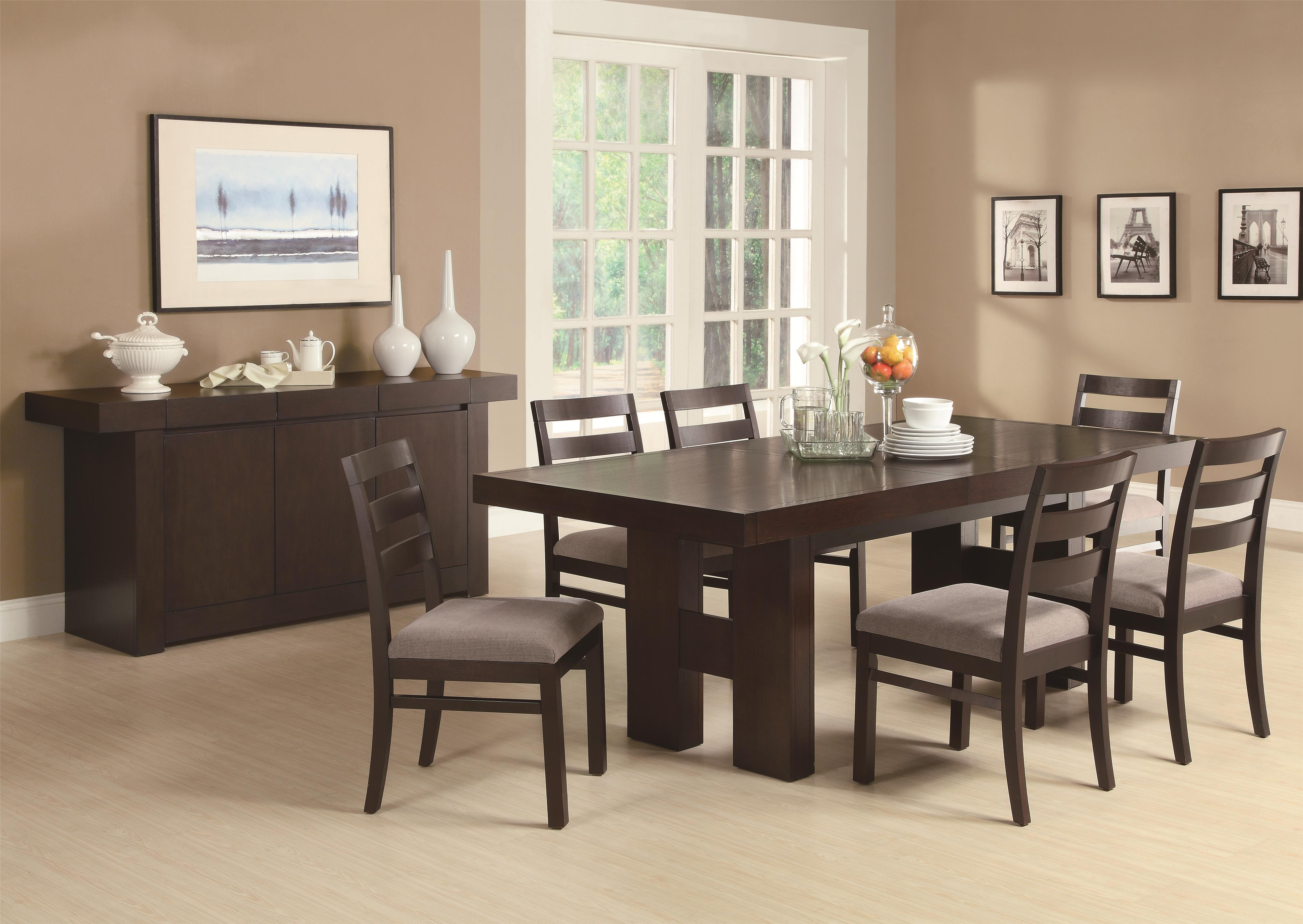 Coaster Dabny Casual Dining Room Group - Item Number: 103100 Dining Room Group 1
