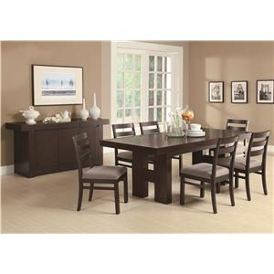 Coaster Dabny Casual Dining Room Group