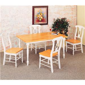 Coaster Damen 5 Piece Dining Set
