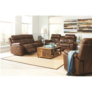 Coaster Damiano Reclining Living Room Group