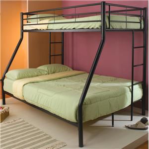 Coaster Denley Metal Twin over Twin Bunk Bed