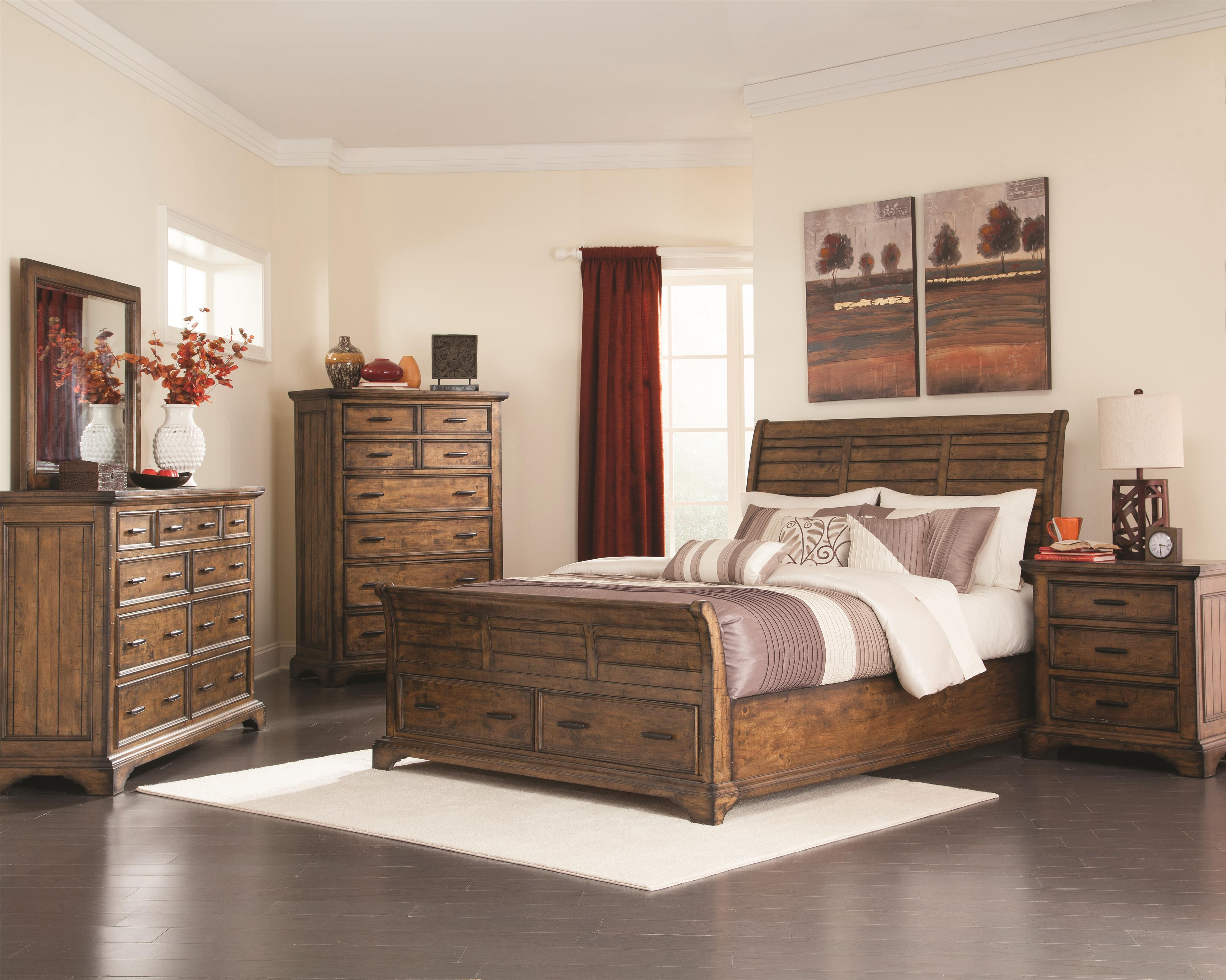 Coaster Elk Grove King Bedroom Group - Item Number: 20389 K Bedroom Group 1