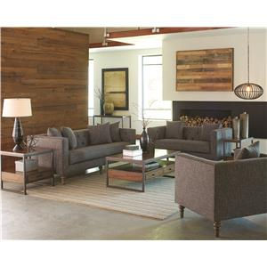Coaster Ellery Stationary Living Room Group