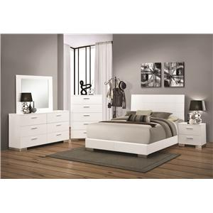 Coaster Felicity Queen Bedroom Group
