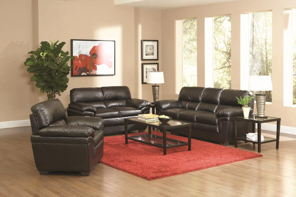 Coaster Fenmore Stationary Living Room Group - Item Number: 50295 Living Room Group 1