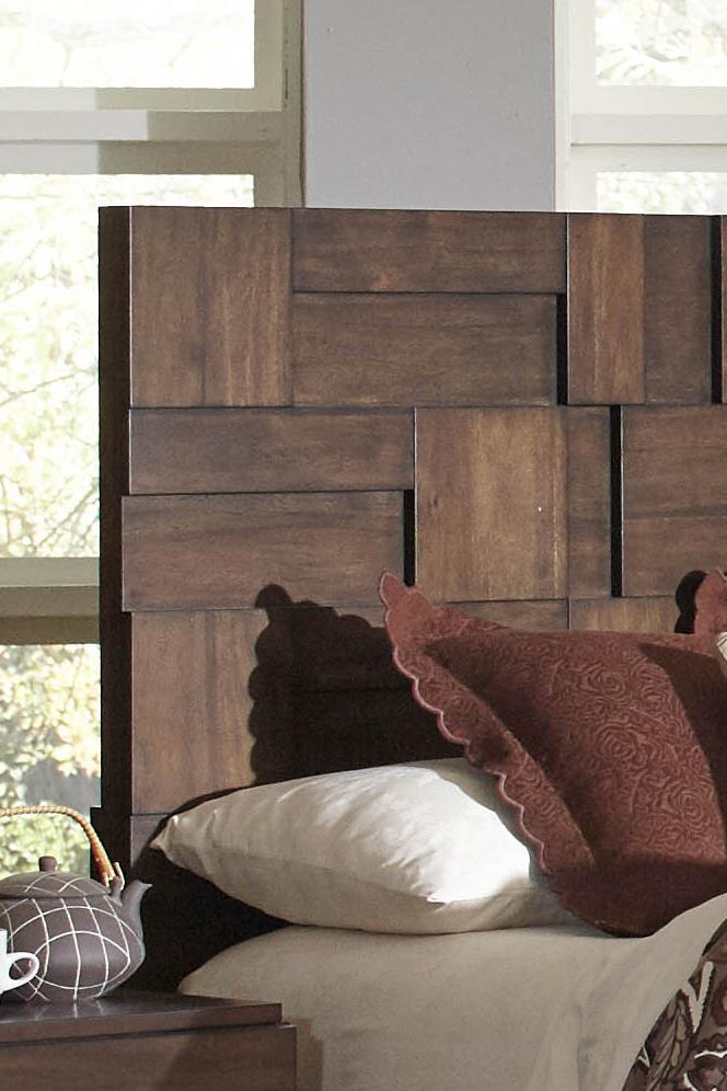 Coaster Gallagher 6 Drawer Dresser With Geometric Layered Wood Panels    Value City Furniture   Dressers