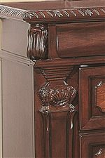 Carved Moldings and Intricate Detailing