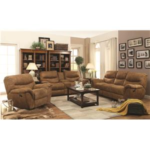 Coaster Hancox Reclining Living Room Group
