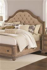 Storage Bed Upholstered Headboard