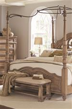 Canopy Bed Footboard