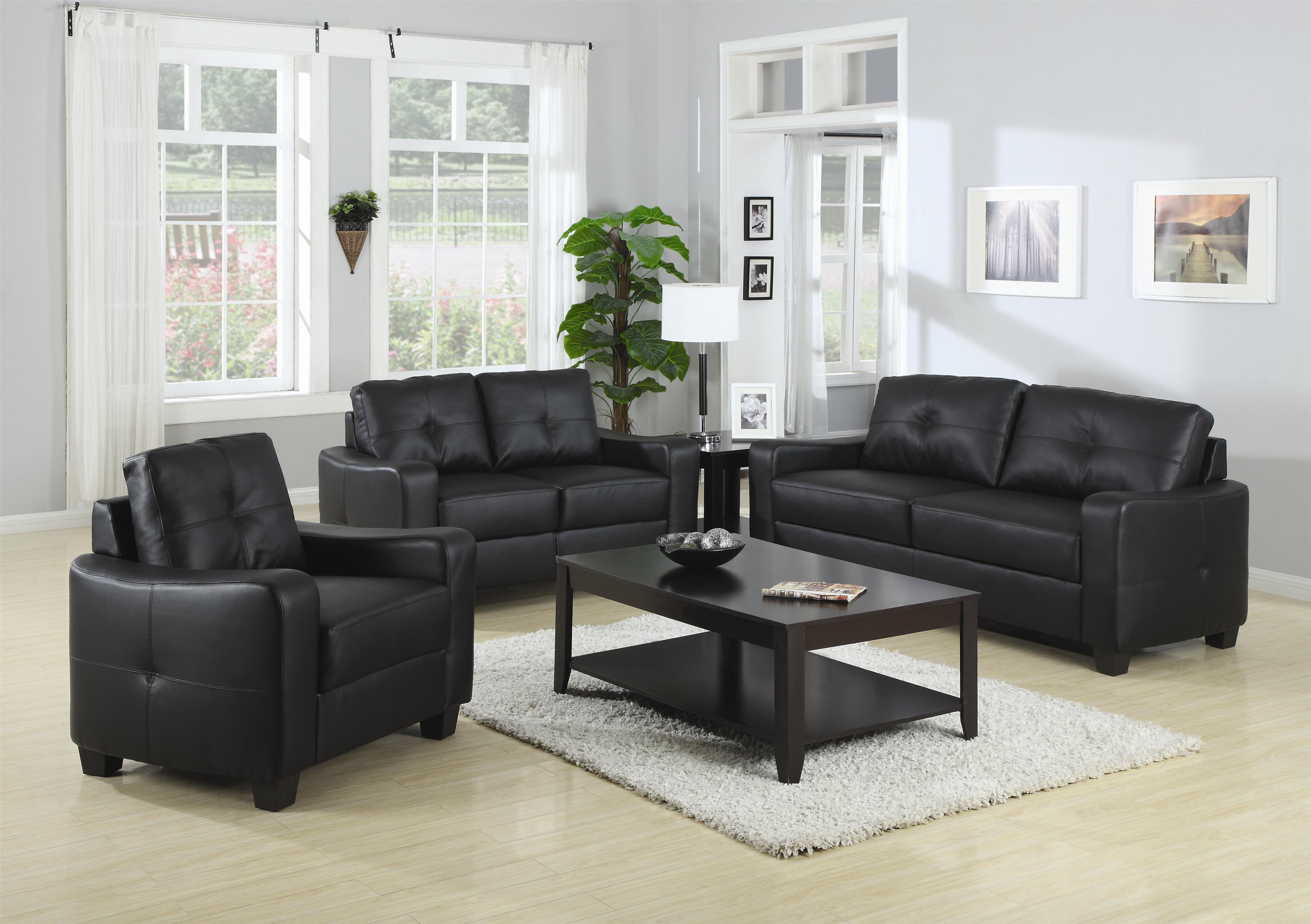Coaster Jasmine  Stationary Living Room Group - Item Number: 50272 Living Room Group 1