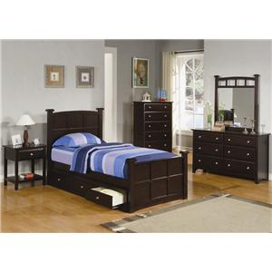 Coaster Jasper Twin Bedroom Group