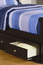 One Sided Under Bed Storage Offers Additional Drawer Storage