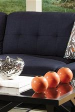 Thick, Tufted Back Cushions