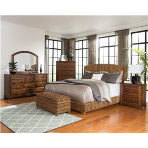 Coaster Laughton Woven Banana Leaf Queen Bed
