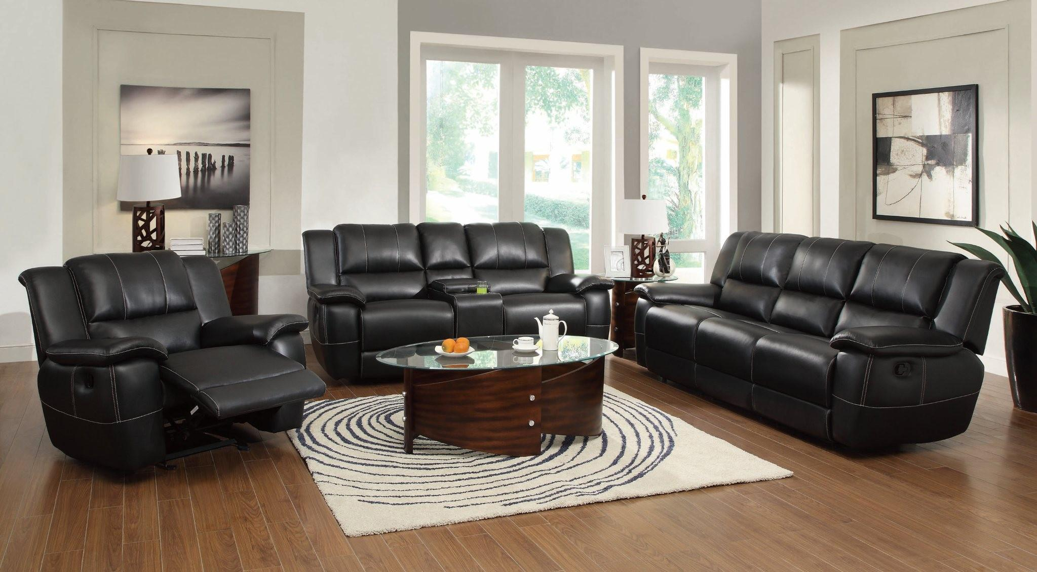 Coaster Lee Reclining Living Room Group - Item Number: 601060 Living Room Group 1