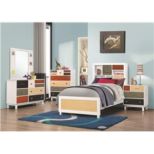 Coaster Lemoore Twin Bedroom Group