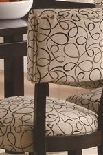 Vibrantly Patterned Upholstered Chairs Bring Visual Detail to Any Room