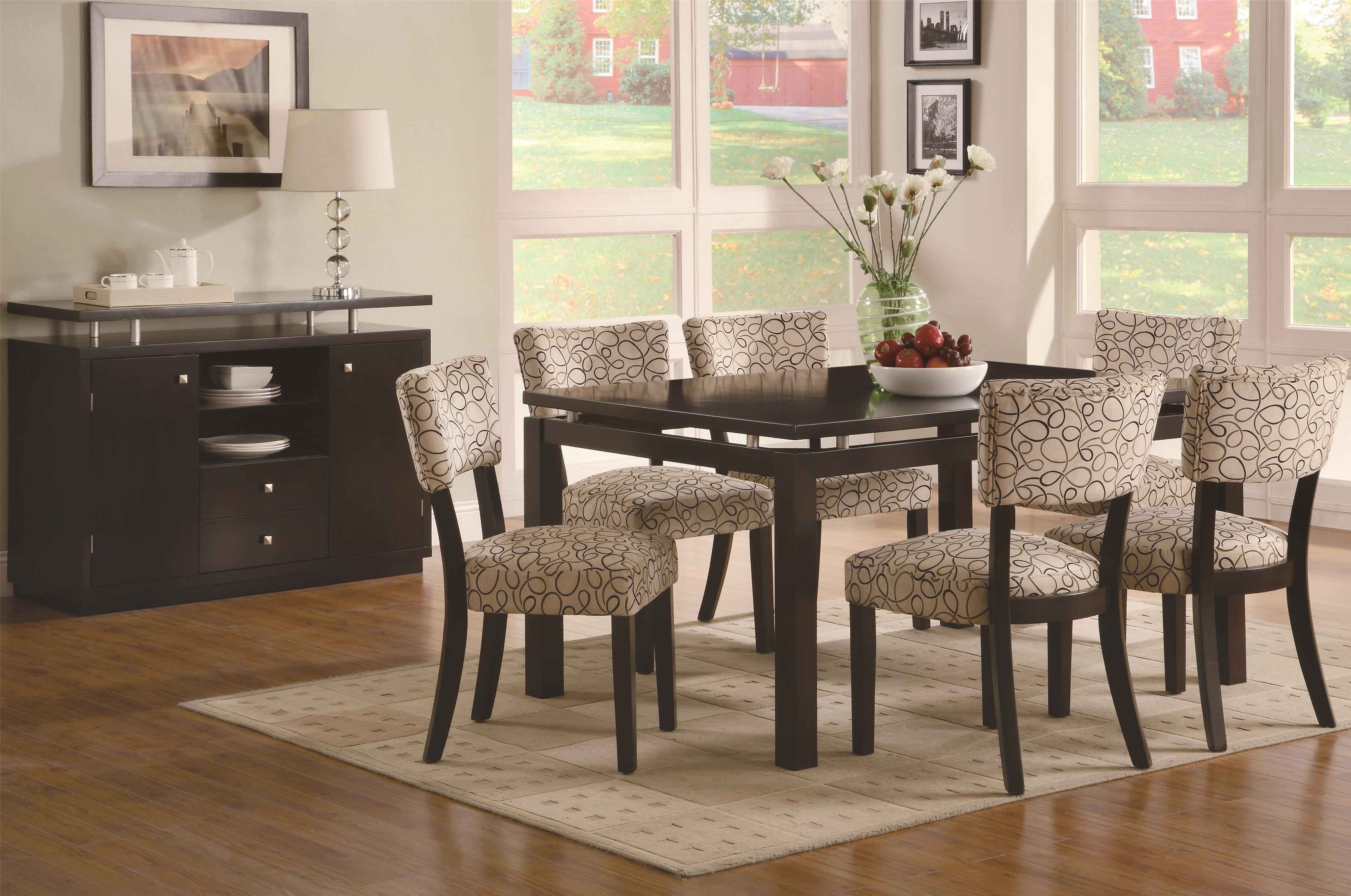 Coaster Libby Casual Dining Room Group - Item Number: 103160 Dining Room Group 1