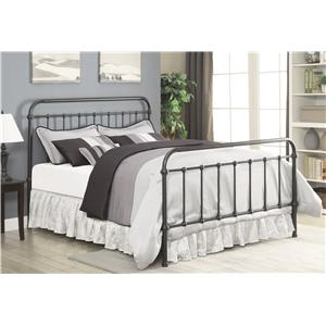 Coaster Livingston Transitional King Metal Bed