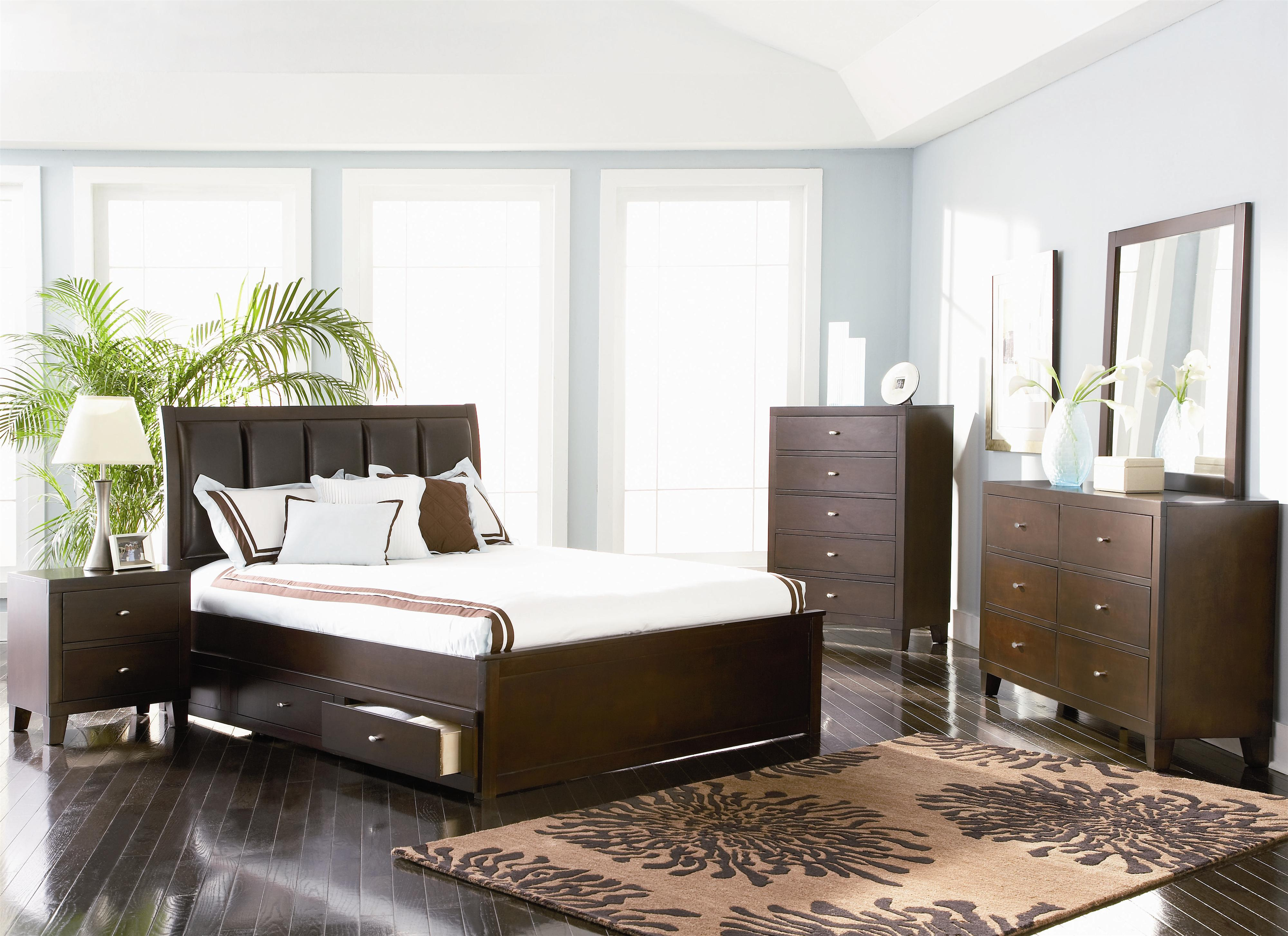 Coaster Lorretta Full Bedroom Group - Item Number: 201510 F Bedroom Group 1