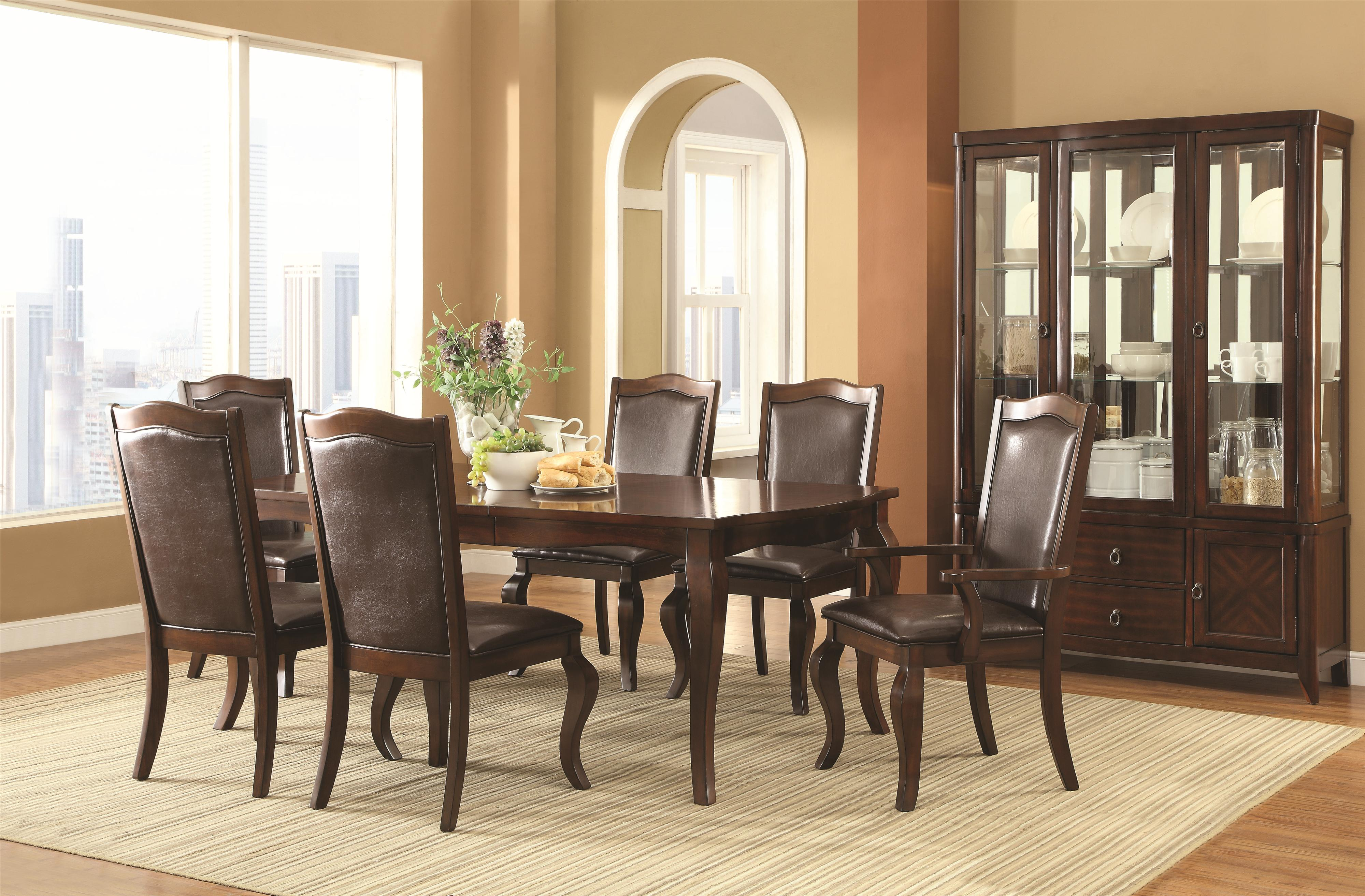Coaster Louanna Formal Dining Room Group - Item Number: 104840 Formal Dining Room Group 1