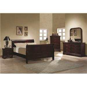 Coaster Louis Philippe Queen Bedroom Group