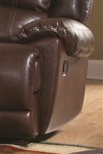Soft Cushions add Comfort to Each Piece, Atop Arms, Seats, Backs and Footrests