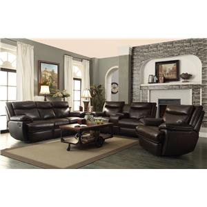 Coaster MacPherson Reclining Living Room Group