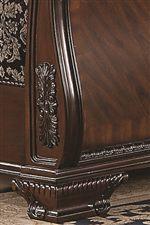 Ornate Wood Carved Detailing