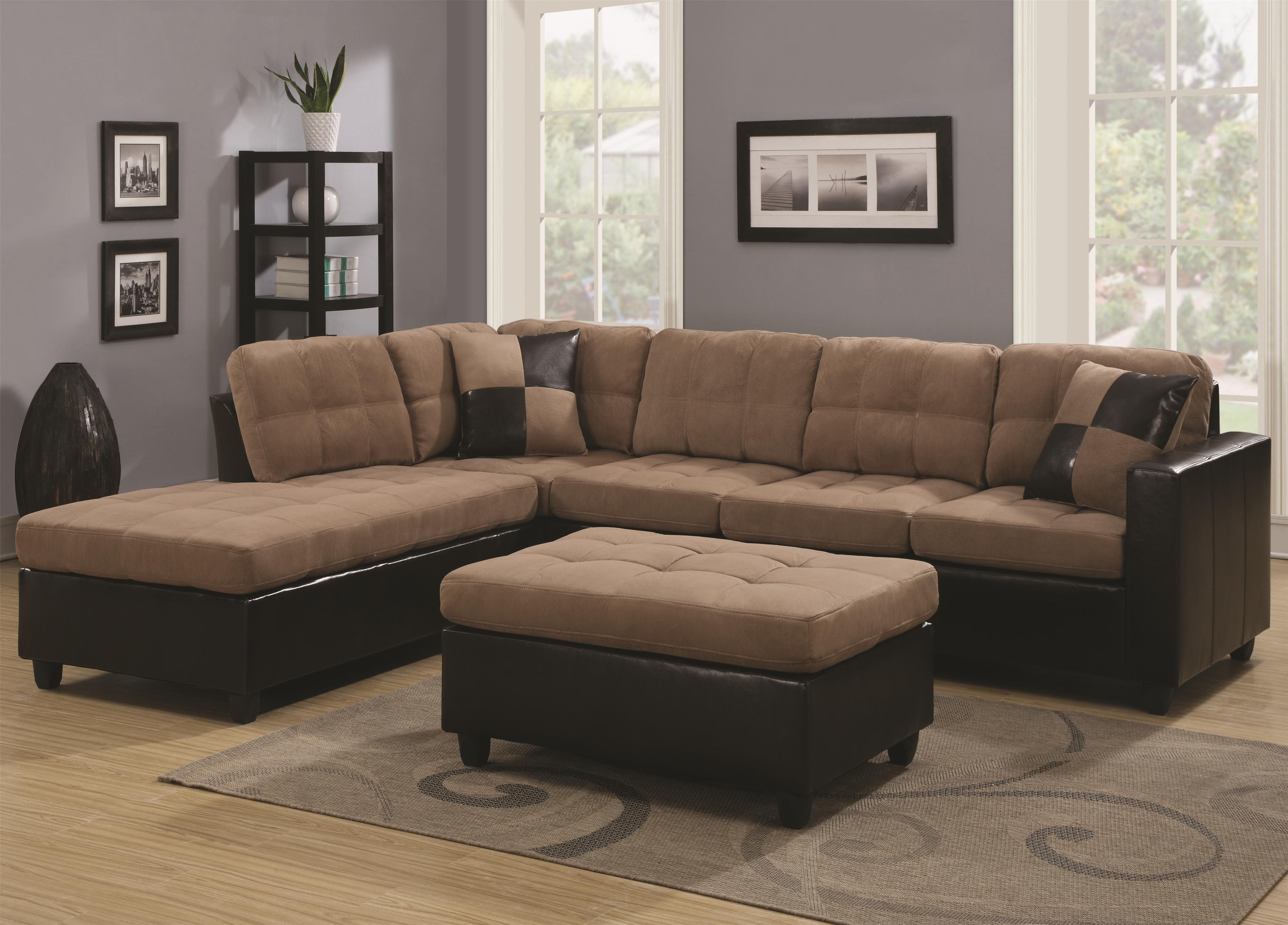 Knight Furniture & Coaster Mallory Stationary Living Room Group | Knight Furniture ...