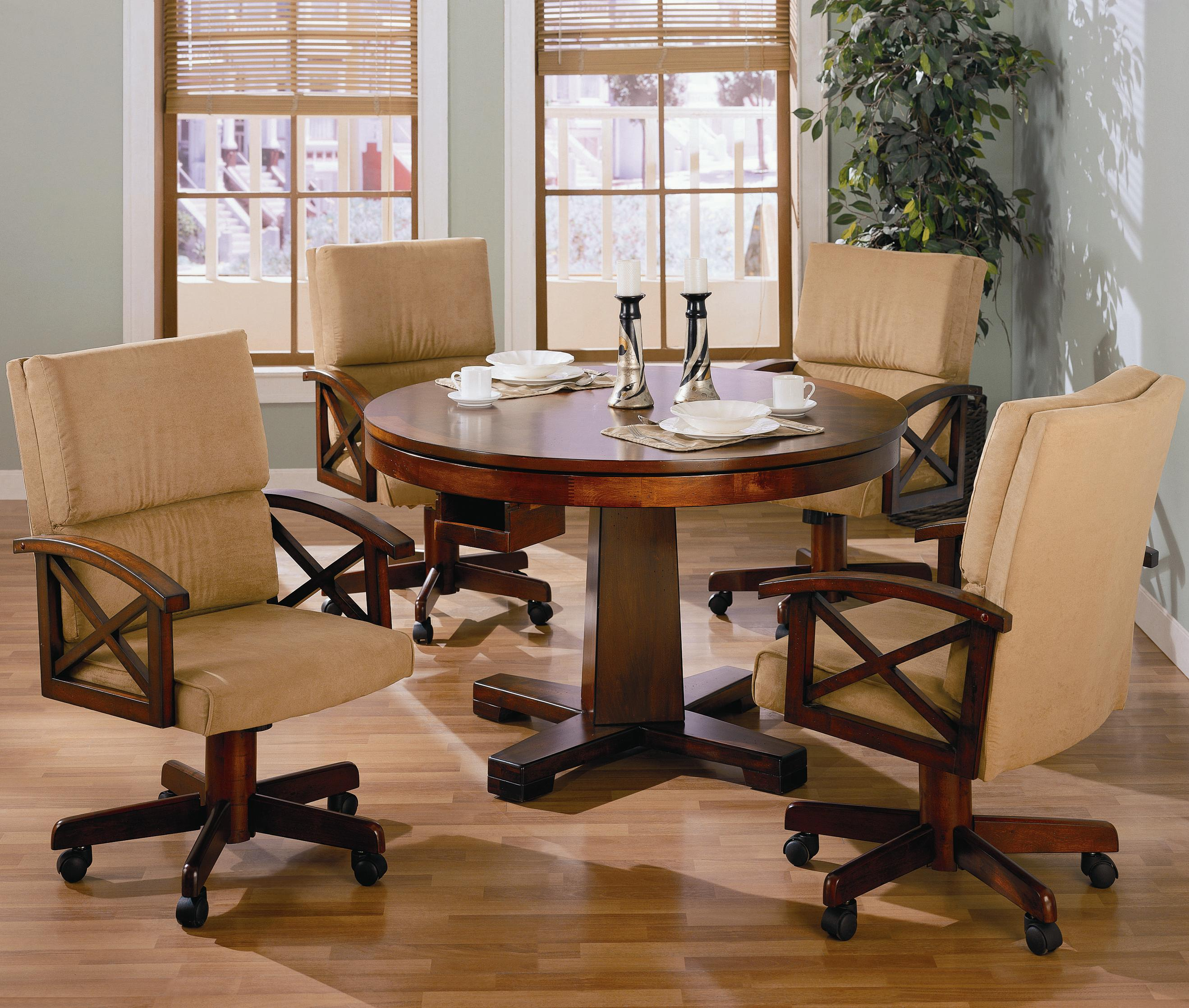 Coaster Marietta 100172 Game Chair | Northeast Factory Direct | Dining  Chairs With Casters Cleveland, Eastlake, Westlake, Mentor, Medina, Ohio