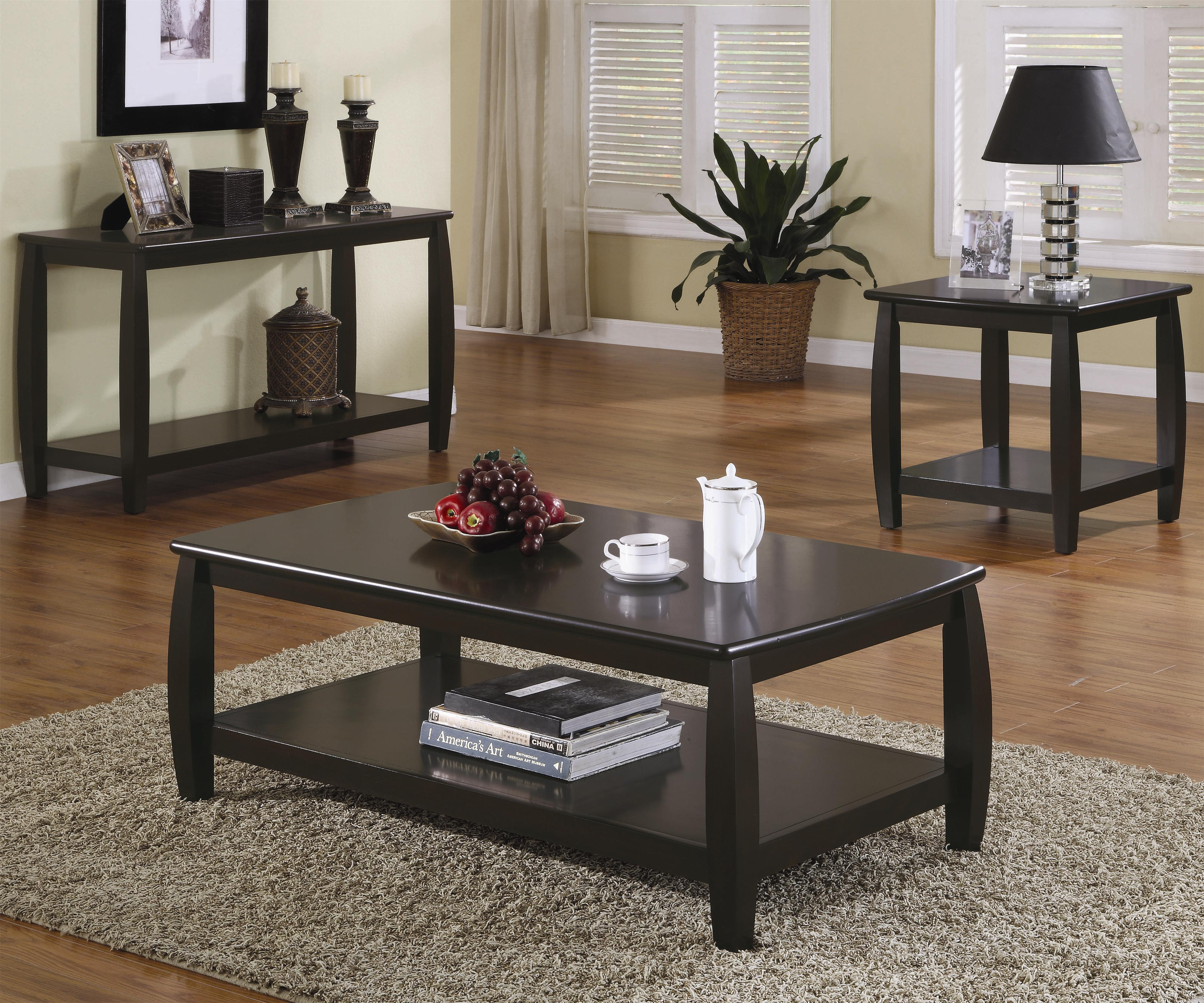 Coaster Marina 701078 Coffee Table Northeast Factory Direct Tail Tables Cleveland Eastlake Westlake Mentor Medina Ohio