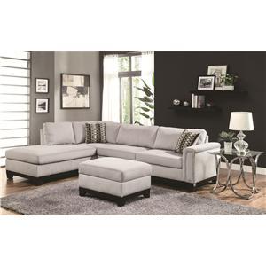 Coaster Mason Stationary Living Room Group